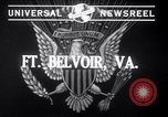 Image of US army with Flamethrowers Fort Belvoir Virginia USA, 1941, second 2 stock footage video 65675028729