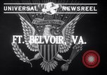 Image of US army with Flamethrowers Fort Belvoir Virginia USA, 1941, second 3 stock footage video 65675028729