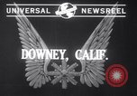 Image of Production of Vultee BT-13 planes Downey California USA, 1941, second 3 stock footage video 65675028730