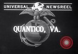 Image of Models with US Marines Quantico Virginia USA, 1941, second 3 stock footage video 65675028731