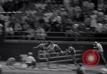 Image of Track and field events at Franklin field Philadelphia Pennsylvania, 1941, second 16 stock footage video 65675028733