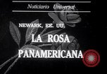 Image of Rose Festival celebrations Newark New Jersey USA, 1941, second 1 stock footage video 65675028737