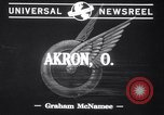 Image of Test on tires Akron Ohio USA, 1941, second 2 stock footage video 65675028739