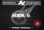 Image of Test on tires Akron Ohio USA, 1941, second 3 stock footage video 65675028739