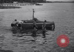 Image of Barney Connelt in tiny submarine Jacksonville Florida USA, 1941, second 5 stock footage video 65675028740