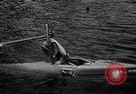 Image of Barney Connelt in tiny submarine Jacksonville Florida USA, 1941, second 8 stock footage video 65675028740