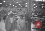 Image of OPM chief Knudsen at Boeing plane factory Seattle Washington USA, 1941, second 9 stock footage video 65675028749