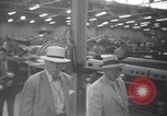 Image of OPM chief Knudsen at Boeing plane factory Seattle Washington USA, 1941, second 10 stock footage video 65675028749