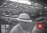 Image of OPM chief Knudsen at Boeing plane factory Seattle Washington USA, 1941, second 11 stock footage video 65675028749