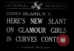Image of Models at Miss Modern Venus Peagant Coney Island New York USA, 1941, second 2 stock footage video 65675028752
