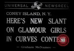 Image of Models at Miss Modern Venus Peagant Coney Island New York USA, 1941, second 6 stock footage video 65675028752