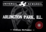 Image of Annual American Derby Arlington Park Illinois USA, 1941, second 3 stock footage video 65675028755