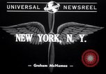 Image of Harry Hopkins leaves for Lisbon New York United States USA, 1941, second 1 stock footage video 65675028758