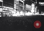 Image of New Year's celebration New York United States USA, 1941, second 8 stock footage video 65675028759