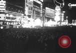 Image of New Year's celebration New York United States USA, 1941, second 9 stock footage video 65675028759
