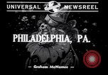 Image of Mummers in gala parade Philadelphia Pennsylvania USA, 1941, second 3 stock footage video 65675028760