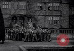 Image of British troops and children celebrate Christmas United Kingdom, 1941, second 9 stock footage video 65675028761