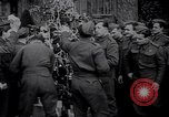 Image of British troops and children celebrate Christmas United Kingdom, 1941, second 10 stock footage video 65675028761