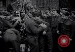 Image of British troops and children celebrate Christmas United Kingdom, 1941, second 11 stock footage video 65675028761