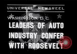 Image of Auto Industry Leaders  Washington DC USA, 1938, second 1 stock footage video 65675028766