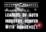 Image of Auto Industry Leaders  Washington DC USA, 1938, second 2 stock footage video 65675028766
