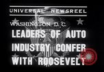 Image of Auto Industry Leaders  Washington DC USA, 1938, second 3 stock footage video 65675028766