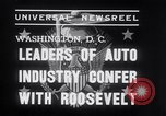 Image of Auto Industry Leaders  Washington DC USA, 1938, second 6 stock footage video 65675028766