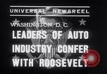 Image of Auto Industry Leaders  Washington DC USA, 1938, second 7 stock footage video 65675028766