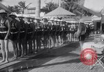 Image of Beach patrol officials and swimsuit models Miami Beach Florida USA, 1938, second 9 stock footage video 65675028768