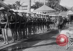 Image of Beach patrol officials and swimsuit models Miami Beach Florida USA, 1938, second 10 stock footage video 65675028768