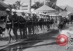 Image of Beach patrol officials and swimsuit models Miami Beach Florida USA, 1938, second 11 stock footage video 65675028768