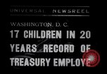 Image of William White's Family Washington DC USA, 1938, second 1 stock footage video 65675028769