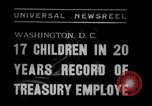 Image of William White's Family Washington DC USA, 1938, second 2 stock footage video 65675028769