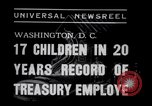 Image of William White's Family Washington DC USA, 1938, second 5 stock footage video 65675028769