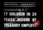 Image of William White's Family Washington DC USA, 1938, second 6 stock footage video 65675028769