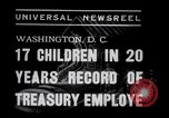Image of William White's Family Washington DC USA, 1938, second 7 stock footage video 65675028769