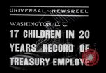 Image of William White's Family Washington DC USA, 1938, second 8 stock footage video 65675028769
