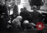 Image of Henry and Edsel Ford for luncheon meeting Washington DC USA, 1938, second 9 stock footage video 65675028773