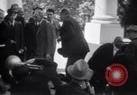 Image of Henry and Edsel Ford for luncheon meeting Washington DC USA, 1938, second 10 stock footage video 65675028773