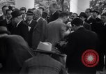 Image of Henry and Edsel Ford for luncheon meeting Washington DC USA, 1938, second 12 stock footage video 65675028773