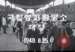 Image of Democratic Unification Meeting Mo Ran Pong Pyongyang North Korea, 1949, second 2 stock footage video 65675028803
