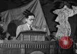 Image of Kim II Sung gives speech in meeting Pyongyang North Korea, 1948, second 2 stock footage video 65675028812