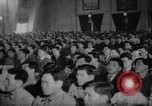 Image of Kim II Sung gives speech in meeting Pyongyang North Korea, 1948, second 3 stock footage video 65675028812