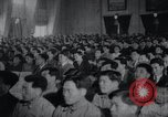 Image of Kim II Sung gives speech in meeting Pyongyang North Korea, 1948, second 4 stock footage video 65675028812