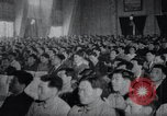 Image of Kim II Sung gives speech in meeting Pyongyang North Korea, 1948, second 5 stock footage video 65675028812