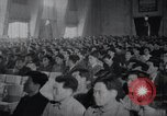 Image of Kim II Sung gives speech in meeting Pyongyang North Korea, 1948, second 6 stock footage video 65675028812
