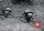 Image of US-Russian soldiers answer field telephones Kaesong Korea 38th Parallel, 1945, second 8 stock footage video 65675028818