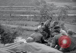 Image of US-Russian soldiers answer field telephones Kaesong Korea 38th Parallel, 1945, second 10 stock footage video 65675028818