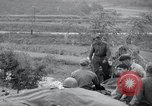 Image of US-Russian soldiers answer field telephones Kaesong Korea 38th Parallel, 1945, second 11 stock footage video 65675028818