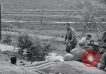 Image of US-Russian soldiers answer field telephones Kaesong Korea 38th Parallel, 1945, second 12 stock footage video 65675028818